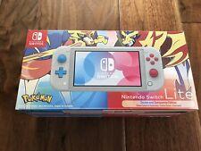 New listing Nintendo Switch Lite Zashian and Zamazenta Edition Console, With Case And Grip