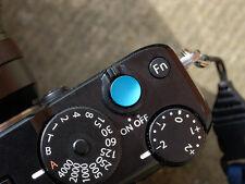 Selens Shutter Button Soft Release Metal Concave Blue Fuji X-T2 X-E3 X-Pro1