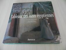 TABLEAUX DES OASIS ÉGYPTIENNES    LIVRES DE LES PHOTOS SUR LES OASIS     ARTHAUD