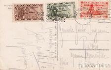 GERMANY 1935 SAARBRUCKEN TO ITALY - POSTCARD