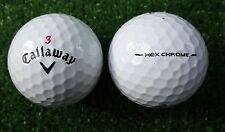 50 callaway Hex Chrome pelotas de golf aaaa/AAA