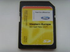 GENUINE FORD SAT NAV NAVIGATION SD CARD 2011 WEST EUROPE UK / IRELAND