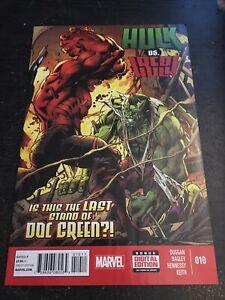 Hulk#10 Incredible Condition 9.0(2015) Vs Red Hulk!!