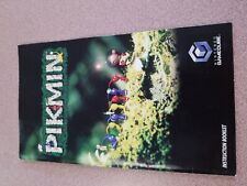 Pikmin Nintendo Gamecube Instruction Manual Book Only good shape.