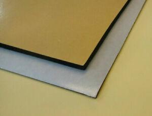 Adhesive Backed Black Neoprene Foam Sponge Rubber - 2mm - 12mm Thick