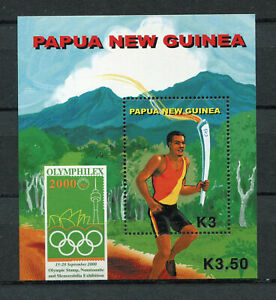 s8551) PAPUA & NEW GUINEA MNH** Nuovi** 2000, Olympic Games Sydney s/s