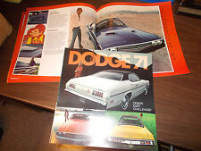 1971 Dodge Dart/Demon/Challenger Deluxe Sales Catalog / Original / Scarce !!