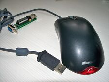 Amiga / Atari Mouse USB PS/2 1000 dpi Microsoft with Power Light
