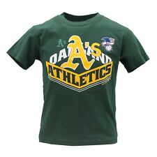 Oakland Athletics Official MLB Genuine Youth Kids Size T-Shirt New with Tags