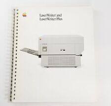 APPLE LASERWRITER AND LASERWRITER PLUS MANUAL 1986, Very Good, Free Shipping