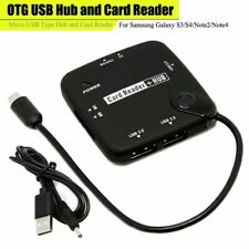 High-Speed OTG USB Hub Card Reader, Micro USB Type Hub, For Android Samsung