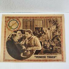Pioneer Trails Lobby Card Cullen Landis Silent Movie 1923 Western Cowboy Orig