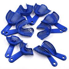 Dental Plastic Steel Impression Trays Denture Model Upper Amp Lower Autoclavable
