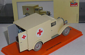 Tintin 1/43 Atlas Voiture 56 Ambulance
