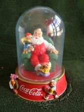Coca Cola Merry Christmas Called for Coke Limited Edition Sculpture in a Dome