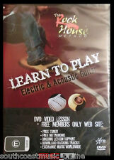 LEARN TO PLAY GUITAR with the ROCKHOUSE METHOD BONUS FREE ONLINE SUPPORT
