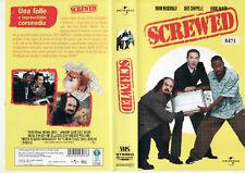SCREWED (2000) VHS