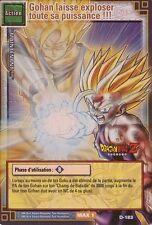 Gohan laisse exploser toute sa puissance !!! D-183 .DBZ Carte Française