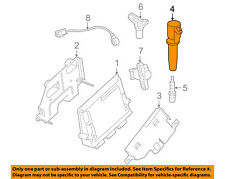 FORD OEM-Ignition Coil 4M5Z12029B