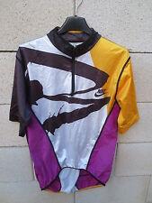 Maillot NIKE Triathlon tri fonction vélo course shirt sprint M