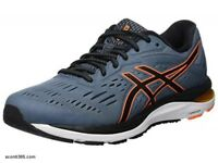 Asics Scarpe running Gel Cumulus 20, Uomo - Art. 1011A008-021 (Ironclad/Black)