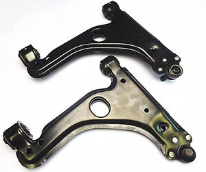 PAIR (LH+RH) NEW FRONT LOWER Control Arms FOR: HOLDEN Astra TS AH 1998 - 2010