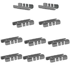 100 Pcs Center Shelf Rest Clip For Brackets To Hang Glass Wood Or Metal Shelf