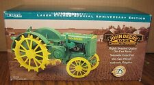 John Deere D Tractor 1/16 Ertl Toy 5178 Laser Etched Special Anniversary Edition