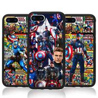 Captain America Avengers Phone Case Steve Rogers Comic For Samsung iPhone Cover