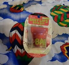 NIP MAYBELLINE BABY LIPS BALM BALL POUT IN PINK 75