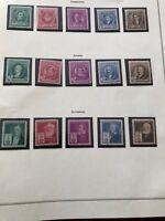 Famous Americans US Stamps 1940 Sc.# 859-893 Complete Sets MNH  OG