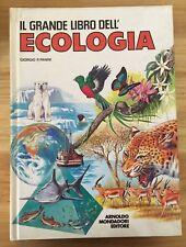 LC158_IL GRANDE LIBRO DELL' ECOLOGIA_MONDADORI_G.P.PANINI_1988_PRIMA RISTAMPA