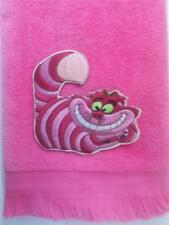 Cheshire cat fingertip towel FREE SHIPPING pink alice in wonderland applique