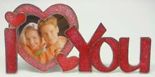 2 x 3 'I Love You' - Red & Pink Epoxy Item # 966. ROCKET FAST SHIPPING !!!
