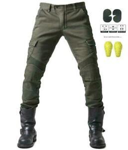 Mens Komine Motorcycle Trousers Security Motorcycle Jeans Racing Pants Outdoor Pants