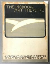 [Vintage Program]   Comstock/Gest  The Story of The Moscow Art Theatre 1898–1923