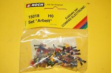 "BOX22] Noch Figures Set 15018 H0 Set "" Work "" Boxed"