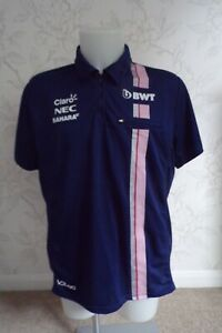 BWT RACING POINT F1 TEAM ISSUE ZIPPED POLO SHIRT MENS XL - LAST FEW IN STOCK