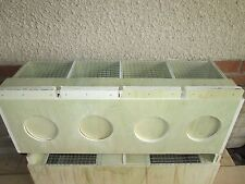 cage de transport oiseaux 4 compartiment