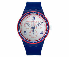Swatch Unisex Silicone/Rubber Band Wristwatches