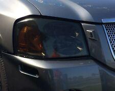 02-09 Gmc Envoy Smoke Head Light Precut Tint Cover Smoked Overlays (Fits: Gmc Envoy)