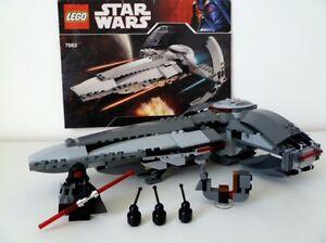 LEGO STAR WARS DARTH MAUL'S SITH INFILTRATOR SET 7663 100% COMPLETE GUARANTEE
