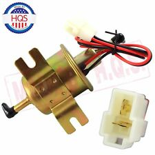 Electric Inline Fuel Pump For Motorcycle Low Pressure 12V Carburetor FP-02 ATV