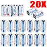 TrustFire123A CR123A DL123 EL123 3 Volt Lithium Batteries For Camera (20 Pack)