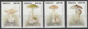 Angola postfris 1993 MNH 945-948 - Paddestoelen / Mushrooms