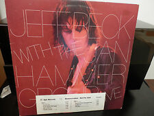Jeff Beck-Live w/Jan Hammer WLP Promo LP w/Timing Sheet Gold Stamp Near Mint