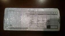 200 2 Part Credit Card Manual Imprinter Slip Paper Draft Forms
