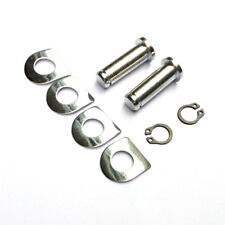 Foot Peg Mounting Bolt Pins w/ D-Washers Replacement Kit For Harley Footrest BSP