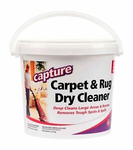 Capture Carpet Cleaner 4 lb - Dry Carpet Cleaner Powder to Deodorize Pet Stains