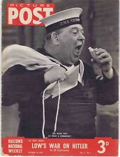 Picture Post magazine 14 October 1939 Day of National Prayer, Wings Over Europe